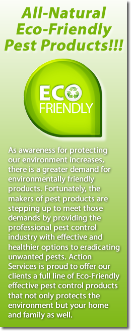 Eco Friendly Pest Control Products Waco & Central, Texas
